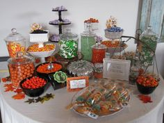 Fall candy bar