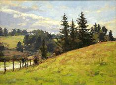Jim McVicker Paintings: 'Winter and Spring 2013 Plein Air Paintings'