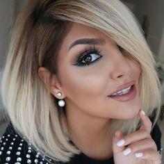 Nice makeup... And hair!!