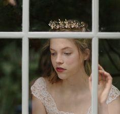 Wedding crown pearl flower crown - Rosebud no. 2073 by EricaElizabethDesign on Etsy https://www.etsy.com/listing/238799948/wedding-crown-pearl-flower-crown-rosebud