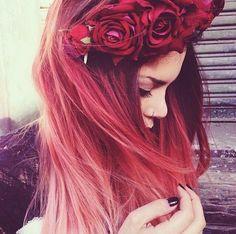 Bild über We Heart It #beautiful #girl #piercing #redhair #haircolor