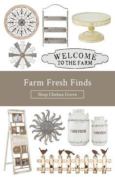 New Rustic Shabby Farm House Chic FARMHOUSE SIGN Galvanized Metal Wood Whitewash