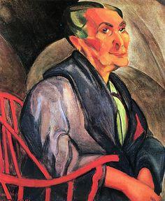 Anita Malfatti  A mulher de cabelos verdes.