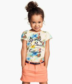 H&M Jersey Top with Printed Design $4.95