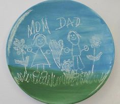 Mothers Day plate - South Shore Pottery Shop
