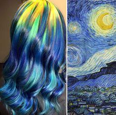 Starry Night y tinte igual
