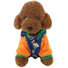 LNGRY Cute Pet Dog Hoodie Coat Winter Thick Warm Clothing Small Puppy Costume *** To view further for this item, visit the image link. (This is an affiliate link) #DogApparelAccessories
