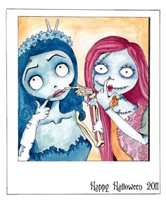 #Sally and Corpse Bride!