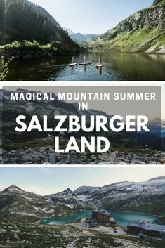 Stand-up-paddling on a crystal-clear mountain lake? Only one of the many adventures you can experience in the SalzburgerLand, Austria! Stuff To Do, Things To Do, Austria Travel, Crystal, Explore, Adventure, Mountains, City, Summer