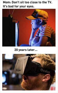 funny virtual reality oculus technology memes