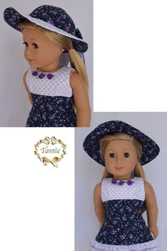 Amelican girl doll clothes Special Occasion by PricessPrincess