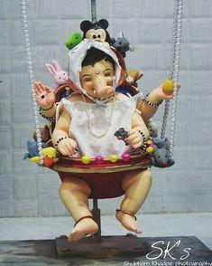बालगणेश 🙏 Photo ______________________________________ Use Hashtag/ हॅशटॅग वापरा Jai Ganesh, Ganesh Idol, Ganesh Lord, Ganesh Statue, Shree Ganesh, Ganesh Chaturthi Decoration, Happy Ganesh Chaturthi Images, Ganesha Art, Dios