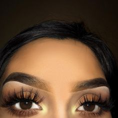 Eye makeup for brown eyes Makeup Inspo, Makeup Inspiration, Beauty Makeup, Beautiful Eyelashes, Applying Eye Makeup, Longer Eyelashes, Makeup For Brown Eyes, Eye Color, Makeup Looks