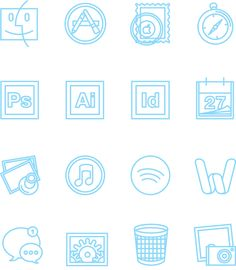 My Desktop Icons - Free Download on Behance