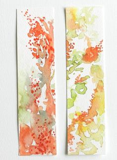 Grow Creative: Still Painting Bookmarks