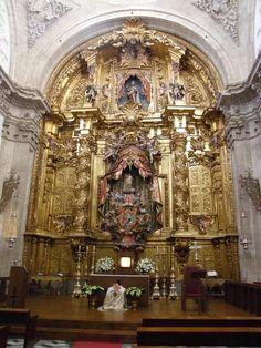catedral de segovia retablo josé de churriguera