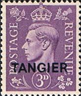 Morocco Agencies TANGIER 1949 SG 263 King George VI Fine Mint SG 263 Scott 533 Other Moroccan Stamps HERE