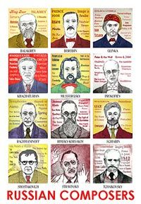 Tchaikovsky in a nutshell- 52composers.com...fact file and interesting tidbits on many composers