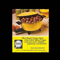 "recipe booklet, ""Country Kettle by West Bend"""