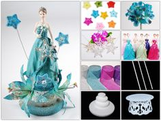 Do it yourself and save big! This beautiful decoration or centerpiece can be made using the materials in this list.  #diy #centerpiece #diycenterpiece #quinceanera #joyfuleventsstore