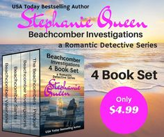 ~ ♦ ~ ♦ ~ ♦ ~ BOOK SPOTLIGHT ~ ♦ ~ ♦ ~ ♦ ~ Beachcomber Investigations 4 Book Set by Stephanie Queen BUY NOW - http://amzn.to/2wpZLGu Hosted by Itsy Bitsy Book Bits
