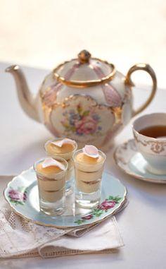 Rose & French Vanilla Tea-a-Misu @michaelOXOXO @JonXOXOXO @emmaruthXOXO @emmammerrick  #HIGHTEA