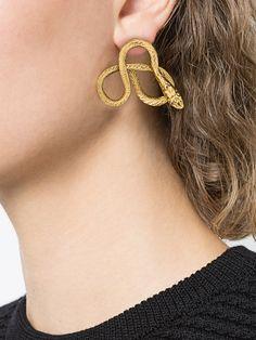 Achetez Jennifer Behr curved shape earrings