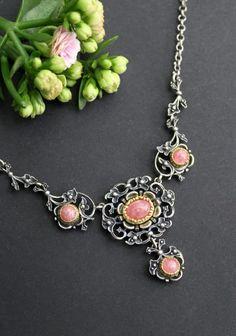 Anna, Charmed, Bracelets, Jewelry, Fashion, Pink Jewelry, Gemstones, Dirndl, Rhinestones