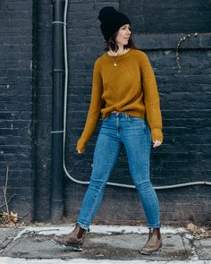 How I Style Blundstones for the Winter - Blundstone style, blundstones , blundstone outfits, blundstone outfit women 180355160062780016 Fashion Models, Casual Outfits, Fashion Outfits, Womens Fashion, Fashion Styles, Cozy Outfits, Casual Clothes, Fashion Fashion, Latest Fashion