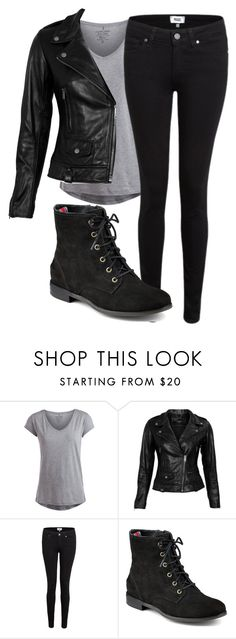 """""""•Yes I lost the fight but please just hold on tight, I'm watching over you from the clouds above•"""" by musicmixer143 ❤ liked on Polyvore featuring moda, Pieces, VIPARO, Paige Denim, Sperry Top-Sider y music"""