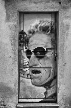 Art Door Photograph by Georgia Fowler