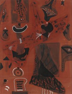 Adolph Gottlieb, Untitled Pictograph, ca. 1945