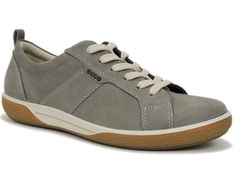 Ecco Women's Chase Sneakers Warm Grey Suede Size US 6 - 6.5 M; EU 37 #ECCO #Comfort