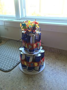 Red Bull Can Cake!