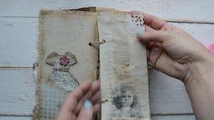 """Vintage style junk journal """"Sweet memories """"."""