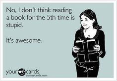 Haha is there too many What is the most times you've read the same book?  #readbooks #alwaysreading #lovereading