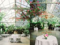 Greenhouse Wedding Utah. Honestly... this is kind of where I want my reception now.