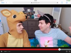Phan is Real!!!! look at the way they are staring at each other!