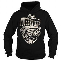 Awesome Tee Team TURBEVILLE Lifetime Member (Dragon) - Last Name, Surname T-Shirt T shirts