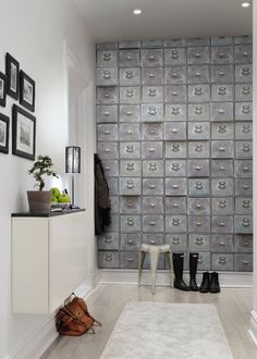 Inspiration : papier peint trompe l'oeil ou effet matière - Marie Claire Maison
