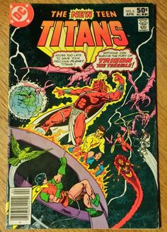 AWESOME!!!!   DC The New Teen Titans Vol 2 #6 Apr 1981 Comic Book