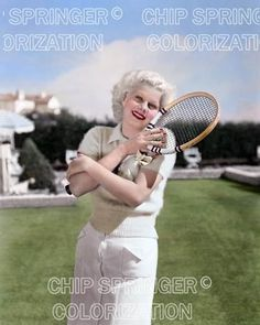 5 DAYS! 8X10 JEAN HARLOW PLAYING TENNIS BEAUTIFUL COLOR PHOTO BY CHIP SPRINGER. Please visit my Ebay Store at http://stores.ebay.com/x5dr/_i.html?rt=nc&LH_BIN=1 to see the current listings of your favorite Stars now in glorious color! Message me if you would like me to relist your favorites. Check out my New Youtube videos at https://www.youtube.com/channel/UCyX926rA5x4seARq5WC8_0w