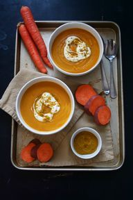 Curried Winter Soup with Carrot, Sweet Potato and Butternut Squash : Oven Love