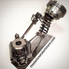 Metal arte mecánico por TheDaRkMetalArtStore en Etsy