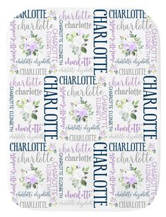 Personalized Baby Blanket Baby Girl Baby Name Blanket Personalized Baby Blankets, Baby Girl Blankets, Newborn Baby Gifts, Baby Skin, Swaddle Blanket, Hand Designs, Chara, Homemade Gifts, New Moms