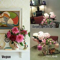 #InteriorDesign #FloralDesign #FloralArrangements #livingdecor #coffeetabledecor #DesignIdeas made by @lolitaespejo for @angelamariahs