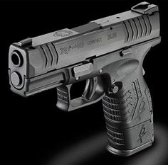 """My absolute dream pistol. Springfield XDM .40cal COMPACT 3.8"""" barrel and shortened grip for conceal-ability."""