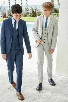 Boys Formal Wear, Look Formal, Teenage Boy Fashion, Kids Fashion, Cute Outfits For Kids, Boy Outfits, Boys Wedding Suits, Blue Suit Men, Cute Kids Photography