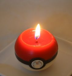 Pokeball Candles Are Essential In Training…