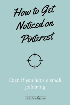 How to get noticed on pinteredt Social Media Tips, Social Media Marketing, Online Marketing, Get More Followers, Like Facebook, Pinterest For Business, Pinterest Marketing, Business Tips, How To Start A Blog